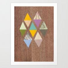Easy Diamonds Art Print