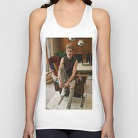 niall horan Tank Tops featuring Niall Horan by behindthenoise