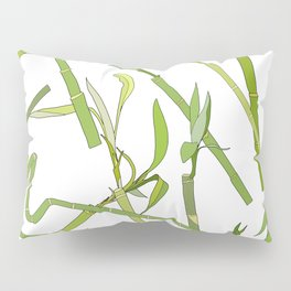 Scattered Bamboos Pillow Sham