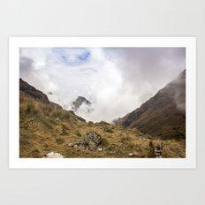 Inca Trail Art Print