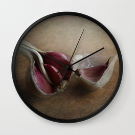 Garlic Wall Clock