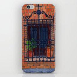 Toledo window iPhone Skin