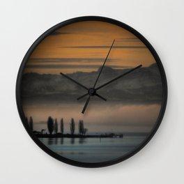 Breakfast TV Wall Clock