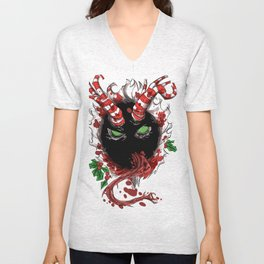 Krampus is coming to town Unisex V-Neck