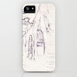 Given enough time, nature will win iPhone Case