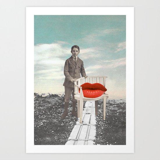 Le fils Art Print