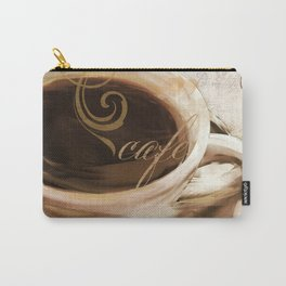 Le Cafe I Carry-All Pouch
