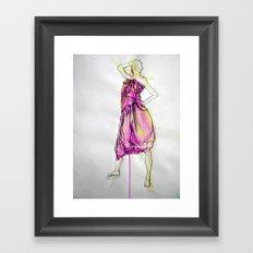 Sarong I Framed Art Print