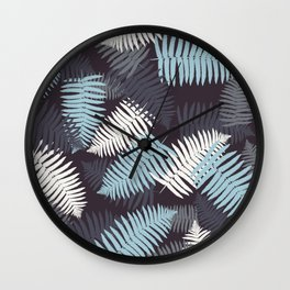 foliage#4 Wall Clock
