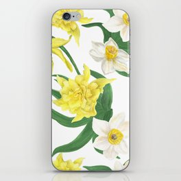 daffodil flowers iPhone Skin