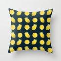 Watercolor Lemon Pattern by skinnyginny