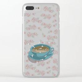 Teatime Clear iPhone Case