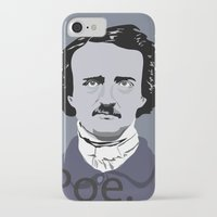 poe iPhone & iPod Cases featuring Poe. by Tara Durrant Designs