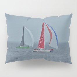 part 3 of 4 of Sailing Battle 42-56  - Transat Quebec St-Malo Pillow Sham