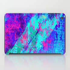 AA4 Abstract watercolour collage iPad Case