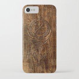 Vegvisir Old Norse Rune Viking mythology iPhone Case