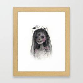 Spider Bride Framed Art Print