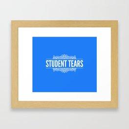 Student Tears Framed Art Print