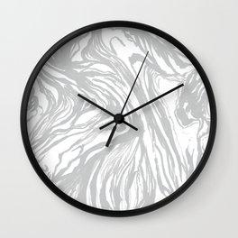 Marbled Gray Wall Clock