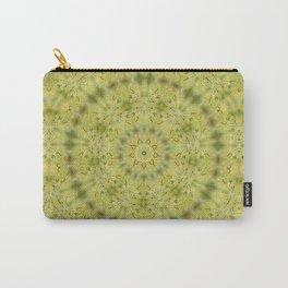 Gentle green Kaleidoscope Mandala Carry-All Pouch