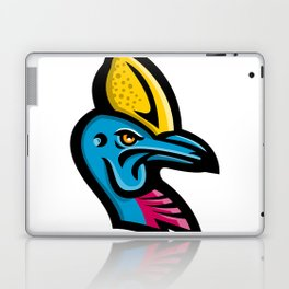 Cassowary Head Mascot Laptop & iPad Skin