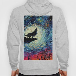 Starry Night(Wolf) Hoody