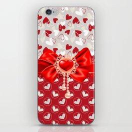 Hearts Valentines iPhone Skin