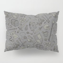 Inventory in Grey Pillow Sham