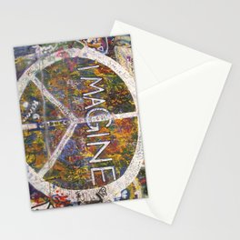 Imagine - Lennon Wall Stationery Cards
