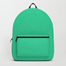 Pretty Emerald Green Backpack