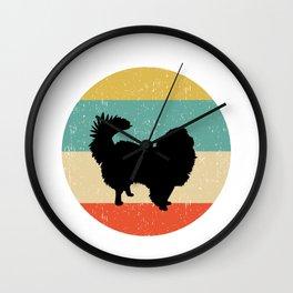 Japanese Chin Dog Gift design Wall Clock