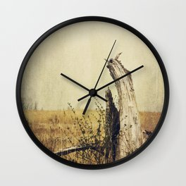 Marsh Tree Wall Clock