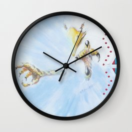 Talons II Wall Clock