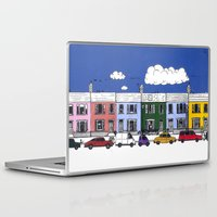 marc johns Laptop & iPad Skins featuring St Johns Terrace, Lewes by Richard Ellis
