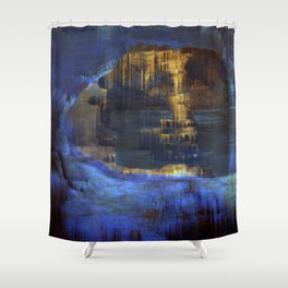 Cave 03 / The Interior Lake / wonderful world 10-11-16 Shower Curtain
