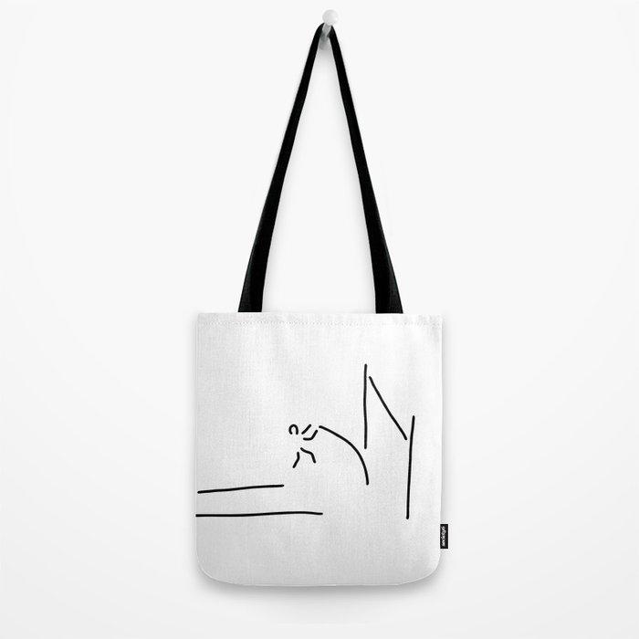 pole vault athletics Tote Bag