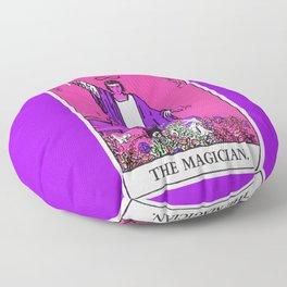 1. The Magician- Neon Dreams Tarot Floor Pillow