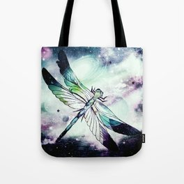space dragonfly Tote Bag