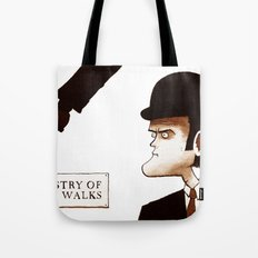 The Ministry of Silly Walks Tote Bag