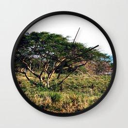 """Near """"3 Palmas"""" Rincon Wall Clock"""