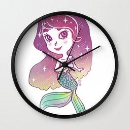Holo Little Mermaid Wall Clock