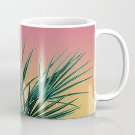 Vaporwave Palm Life - Miami Sunset Coffee Mug