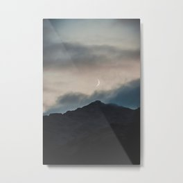 Scotland Sunset Over Munros  Metal Print