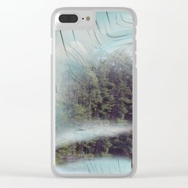 Meh it up Clear iPhone Case