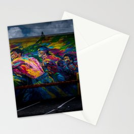 Street Art (Wynwood, Miami) Boxing Mural Stationery Cards