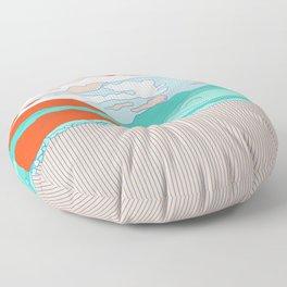 Valle Blanco Floor Pillow