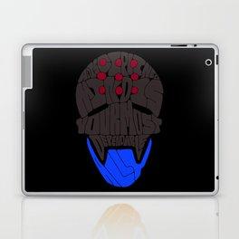 "Zenyatta Typography - ""A Disciplined Mind"" Laptop & iPad Skin"