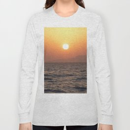 Sunrise at Tiran Island Long Sleeve T-shirt