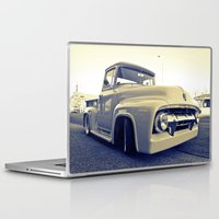ford Laptop & iPad Skins featuring Ford nostalgia by Vorona Photography