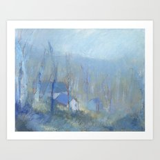 Shenandoah Blue Art Print